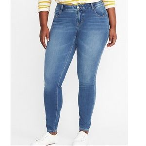 Old Navy Medium Rinse Rockstar Jeans